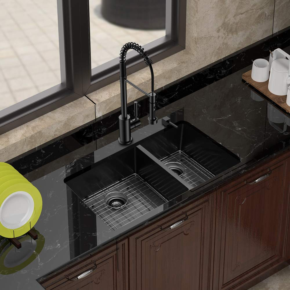 Do they make black stainless steel sinks?   Top 8 black sinks.